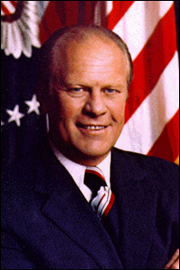 Gerald R. Ford pardoned Richard Nixon because of their friendship