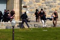 Gunman kills 32 in Virginia Tech Rampage