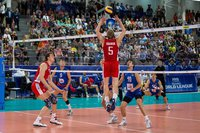 Russian volleyball player claims he did not spit at Polish fan. 53609.jpeg