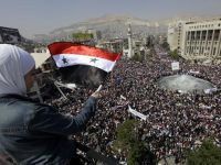 Syria and the UNO, Peaceful protests and