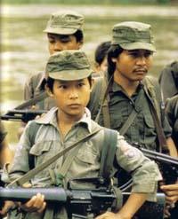 Myanmar army hits rebel base near Thai border