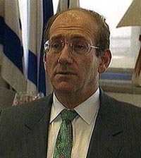 Olmert ally meets with Palestinian leader