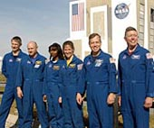 Shuttle astronauts ready for mission in May