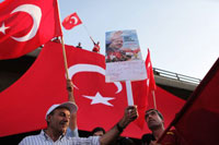 Tens of Thousands Mourn Victims of Flotilla Attack in Istanbul