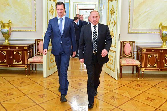 Syrian President Assad conducts closed talks with Putin in Moscow. Bashar Assad visits Moscow