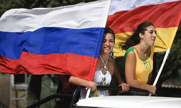 Putin's next move towards multipolar world: South Ossetia. Russia together with South Ossetia