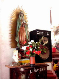 Mexico's residents celebrate Virgin of Guadalupe day