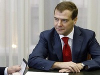 Conversation between President Medvedev and Gazprom CEO