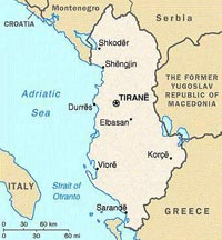 U.S. gives money to Albania to fight corruption