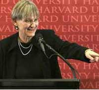 Harvard names historian as first female president