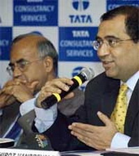 Tata Consultancy's profit increases by 47 percent on outsourcing contracts