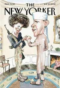 New Yorker's cover choice deeply hurts feelings of Barack Obama and his wife