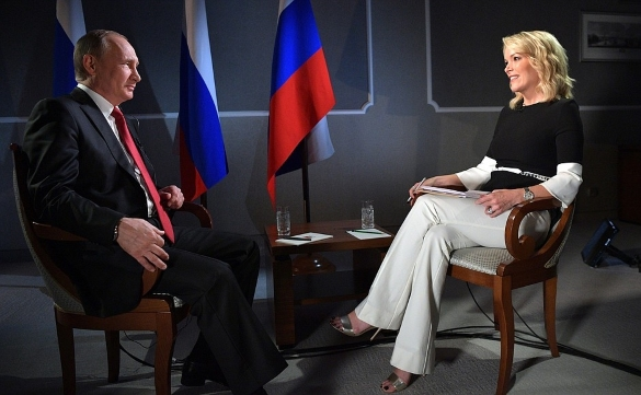 Putin sends message to the world through Megyn Kelly. 60623.jpeg