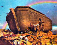 Noah's Ark made its final stop in Iran