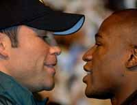 De La Hoya-Mayweather becomes richest fight in boxing history