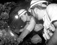 Explosion in gold mine in Ecuador kills 1 miner and entraps 60 underground
