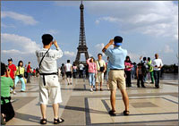 French are worst tourists in the world
