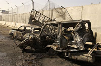 Car bomb explodes in Shiite neighborhood of Baghdad, 5 people killed