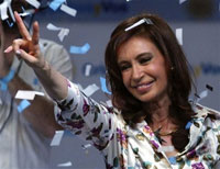 Argentine President to switch jobs with his wife Cristina Kirchner