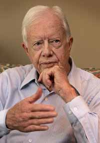 Ex-U.S. President Carter urges better health training in Africa to combat disease
