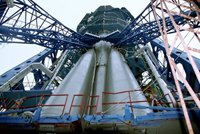 Russia's top rocket manufacturer merges with four other space-related companies