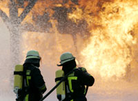 Greek fires kill 64, foreign firefighters help to fight