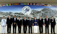 G-8 Leaders to Pledge  Billion to Poor Nations