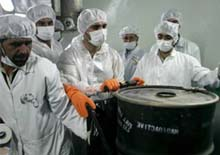 Iran enriches uranium to higher level