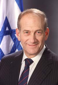 Israel not interested in conflict with Syria, Ehud Olmert says