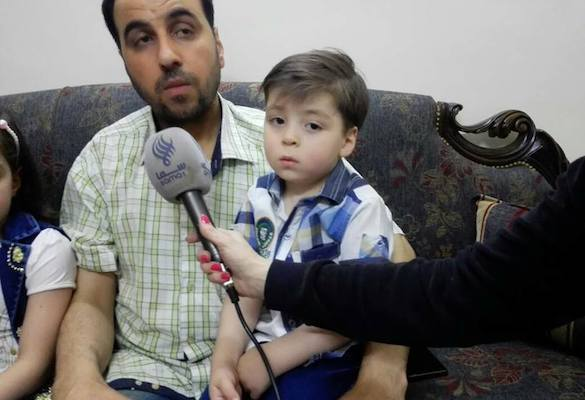 Family of 'symbol of Aleppo's suffering' announce support for Bashar Assad. 60630.jpeg