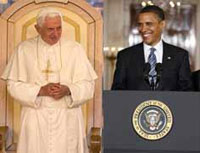 Barack Obama Meets with Pope at End of Italy Trip