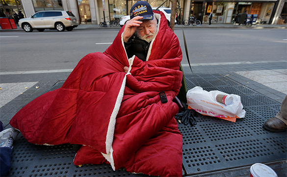 Thirty-seven percent of Americans live on the brink of financial disaster. Americans in poverty