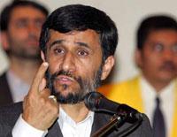Iranian President Mahmoud Ahmadinejad arrives in Residence Evil