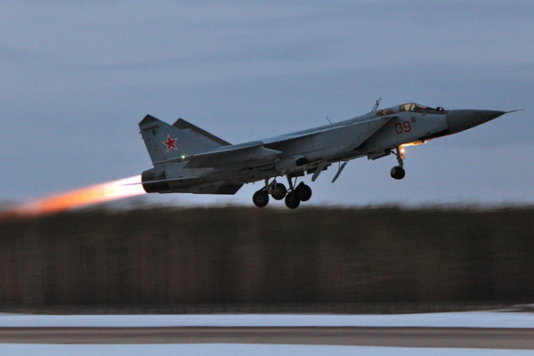 Russian MiG-31 jet intercepts Norwegian Air Force's plane over Barents Sea