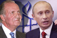 Putin discusses future with the king of Spain