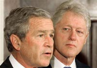 Bill Clinton and George W. Bush start another Cold War against Russia