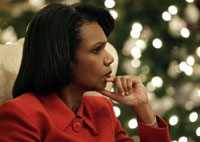 Condoleezza Rice praises Putin's choice