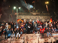 World Celebrates  Berlin Wall's Fall