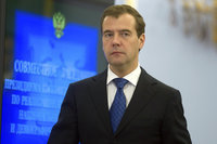 Medvedev: Russia was kept in a hallway for 17 years, but today, we show our teeth. 52637.jpeg