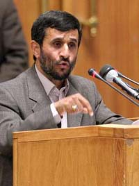 Amadinejad says his country is a 'nuclear Iran'