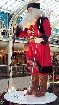 Consumer Capitalism Pushes Santa's Sleigh