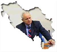 Milosevic was denied the right to live in The Hague