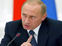 Vladimir Putin meets with members of Commission for monitoring of gas transit via Ukraine