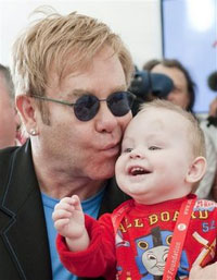 Ukraine Ruins Elton John's Hopes for Adopting Little Boy