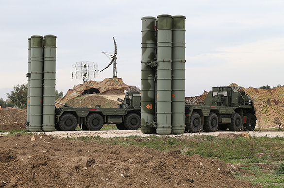 Russia's new defense orders cover Syrian operation costs over and above. S-400 air defense system