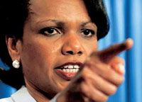Condoleezza Rice comes to Moscow to correct Robert Gates' mistakes
