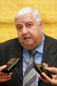 Syrian foreign minister visits Moscow
