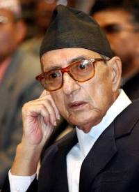 Meeting between Nepal's prime minister and leaders of eight-party coalition postponed