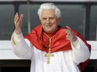 Pope Benedict XVI praises Australian government