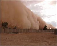 Sandstorm engulfes Egypt